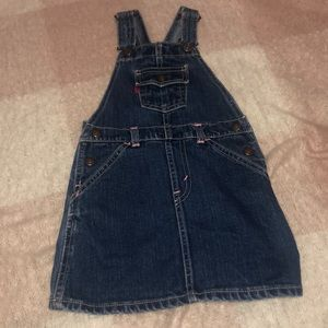 Levi Jean Overall Dress